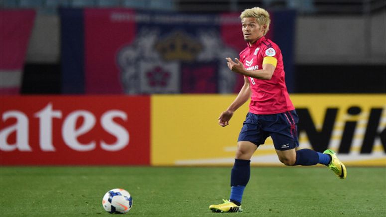 Soccer: Cerezo's Yamaguchi out for 6 weeks with knee injury