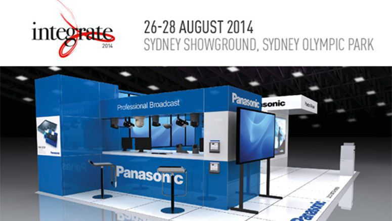 Panasonic to showcase latest display products at Integrate 2014