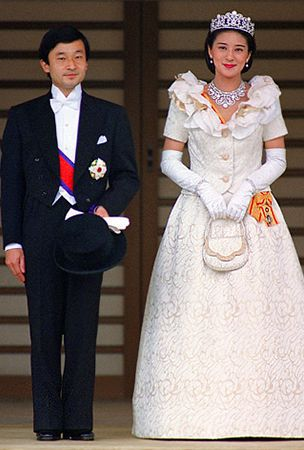PHOTO Crown Princess Masako Of Japan Royal Wedding Dress