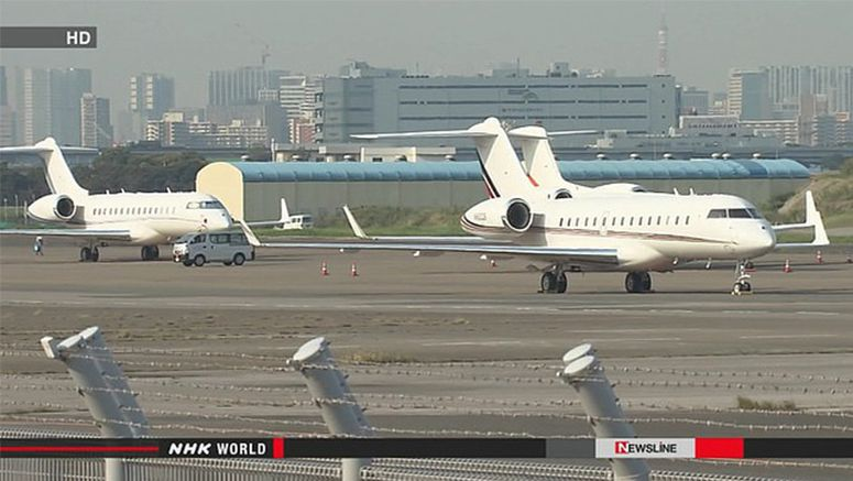 Haneda Airport trying to attract private jets