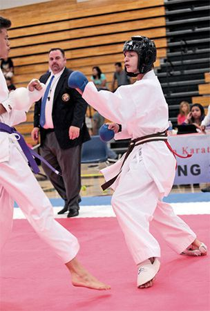 Miladi Karate Academy hosts tournament
