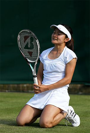 Tennis: Aoyama knocked out of Japan Women's Open