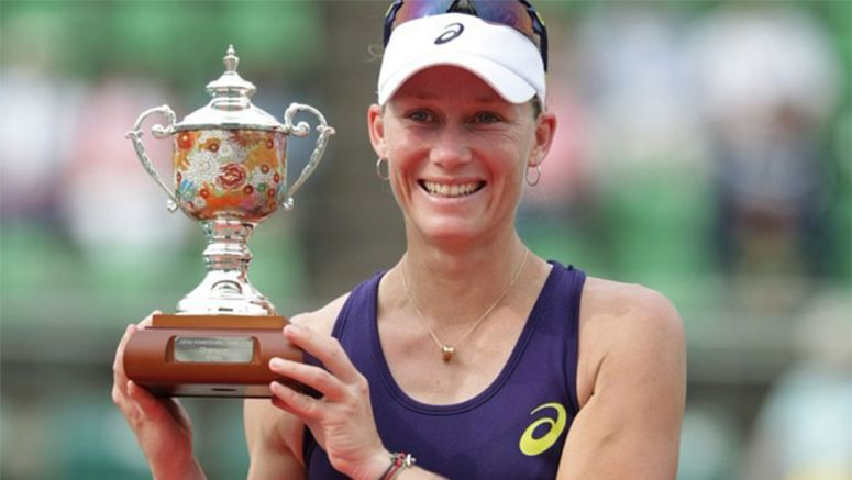 Tennis: Sam Stosur wins Japan Women's Open