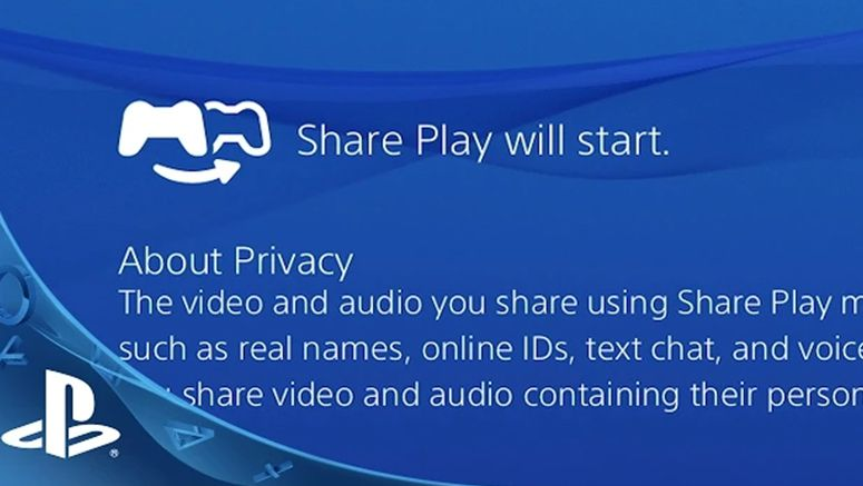 Sony : Check Out Share Play in Action on PS4