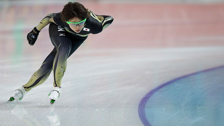 Speed skater Kodaira claims 1st Cup title