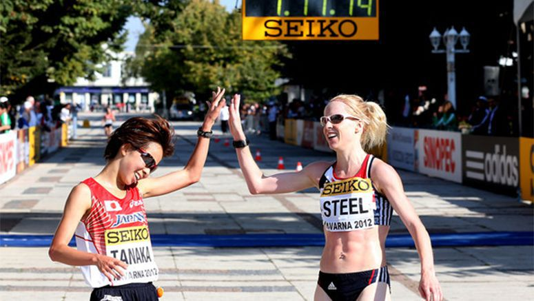 Athletics: Tanaka wins Yokohama Women's Int'l Marathon