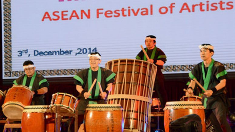PHOTO : ASEAN arts festival for disabled held in Myanmar