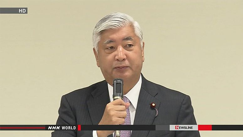 Nakatani reacts to China's criticism of his remark