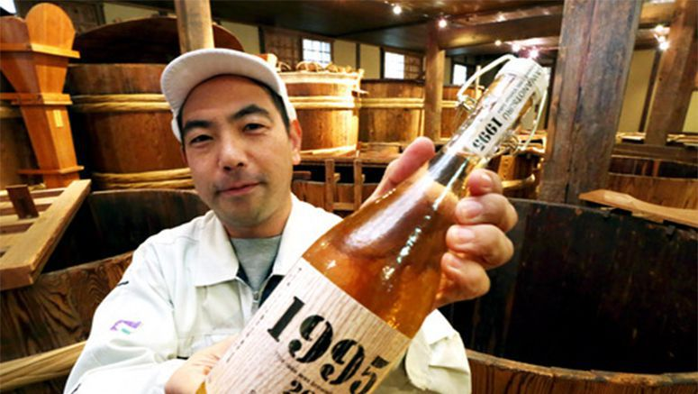 Aged Kobe sake brewed after Great Hanshin Earthquake set to go on sale