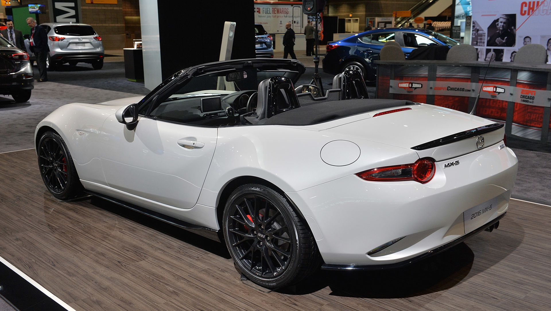 ... 2015 Chicago Auto Show : Mazda Specs New MX 5 Miata With Accessories