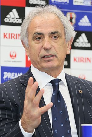 Halilhodzic names his 1st Japan squad