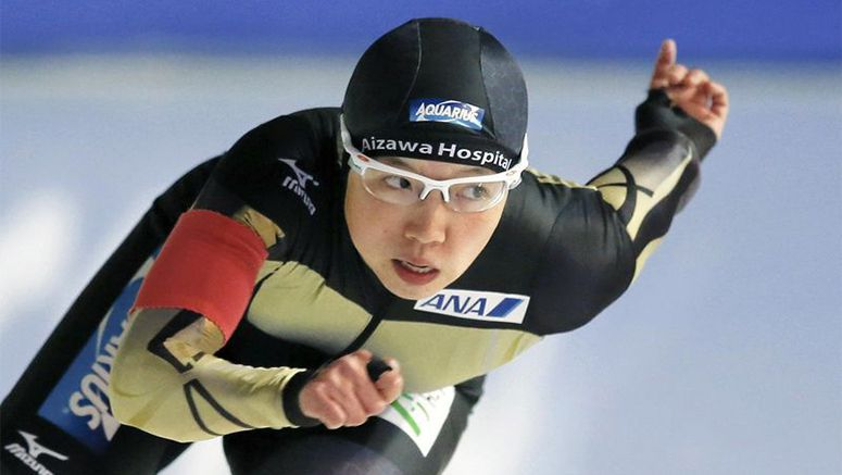 Speed skater Kodaira claims 500 title with 3rd place in finale