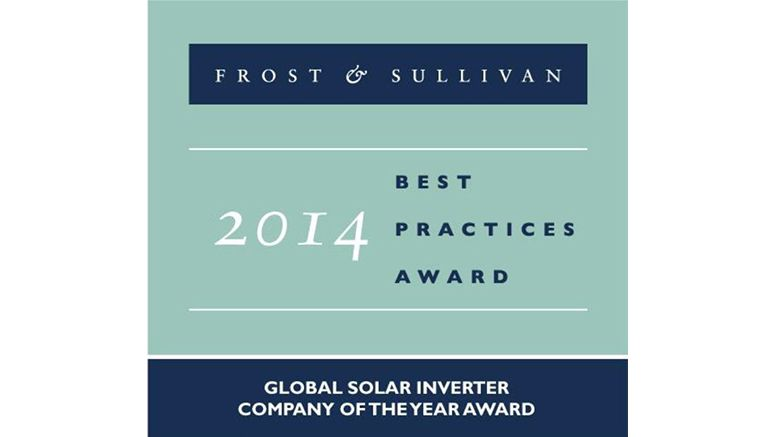 TMEIC Given Highest Award by Frost & Sullivan