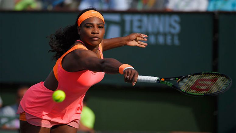 Williams, Federer, Nadal easily advance at Indian Wells