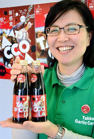 Orders pouring in from all over for Aomori garlic-flavored soda