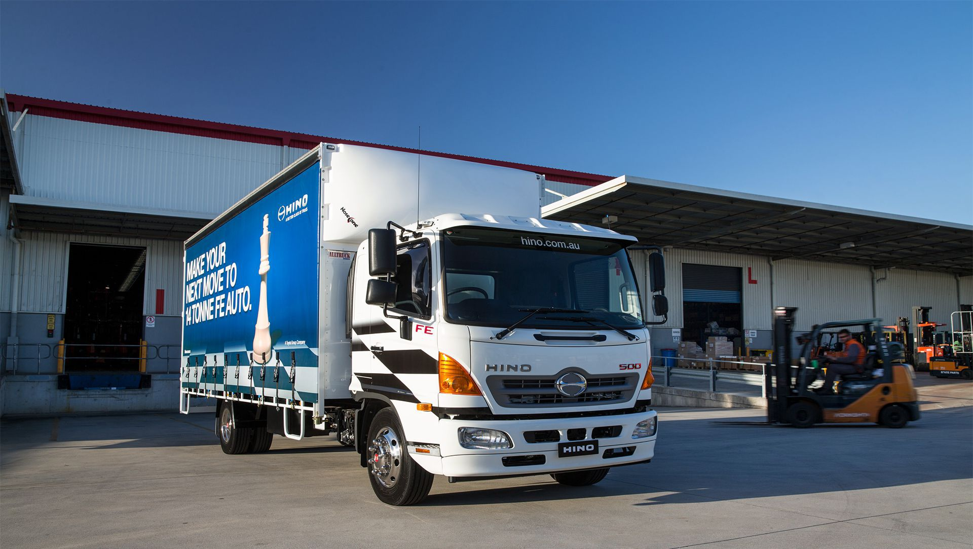 Hino To Display Past And Present Models At Brisbane Truck