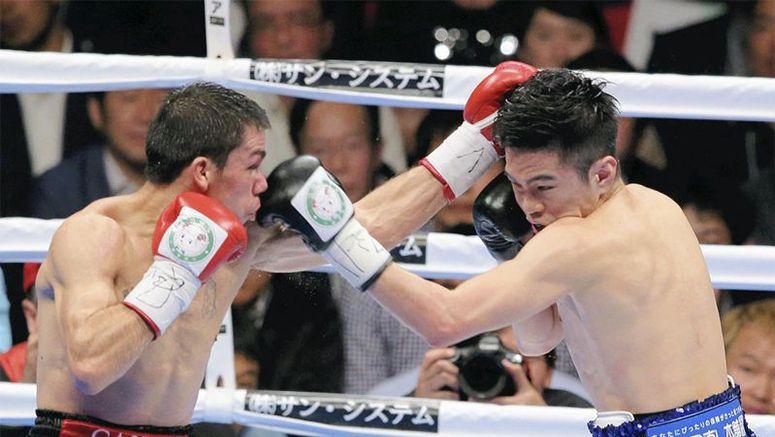 Ioka does what his uncle couldn't do, wins belt in 3rd division