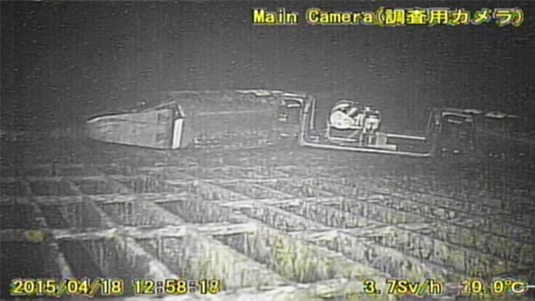 New photo confirms robot probe stuck inside Fukushima No. 1 reactor vessel
