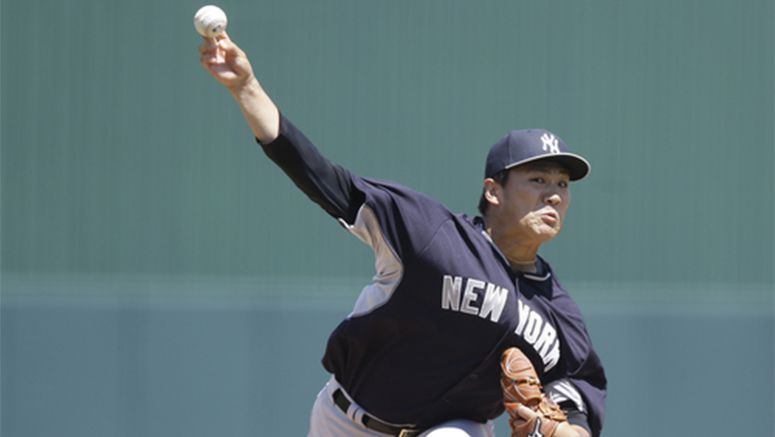 Yankees pitcher Tanaka expects speed to be down this year