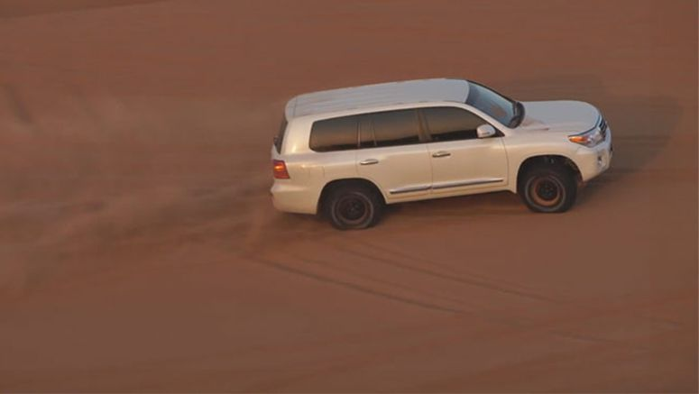 Modified Toyota Land Cruiser Can Conquer the Biggest of Dubai's Dunes