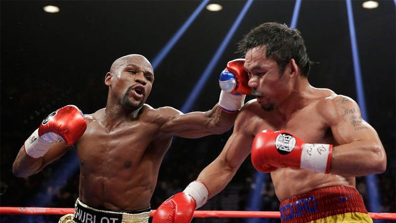 Money decision: Mayweather wins