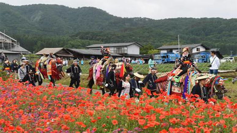 Photo : Traditional horse festival held in northeastern Japan 2015