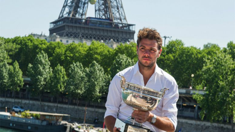 French champ Wawrinka: Federer 'always really happy' for him