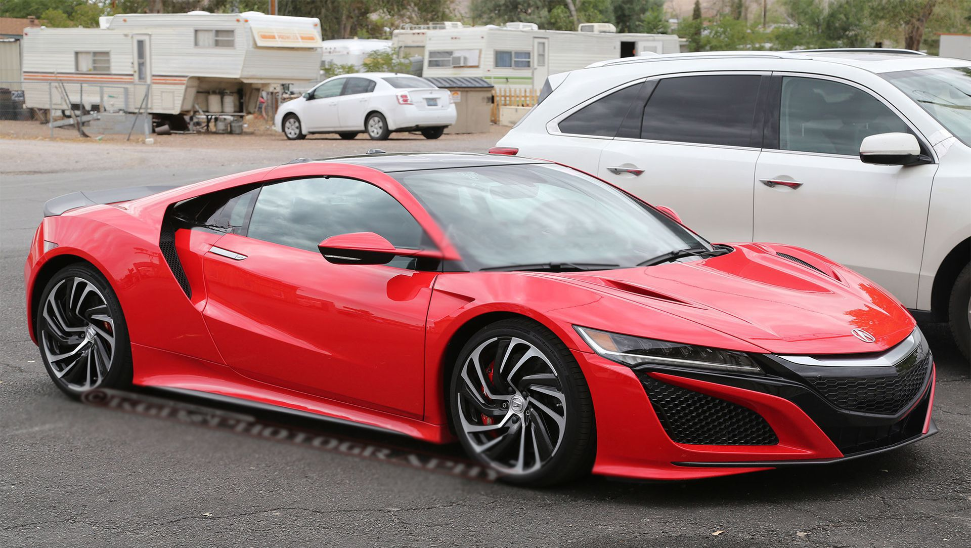 2016 Acura NSX Spied In Production Ready Red The Brand New ...