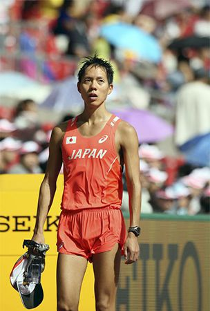 Medal hopeful Suzuki drops out of walk