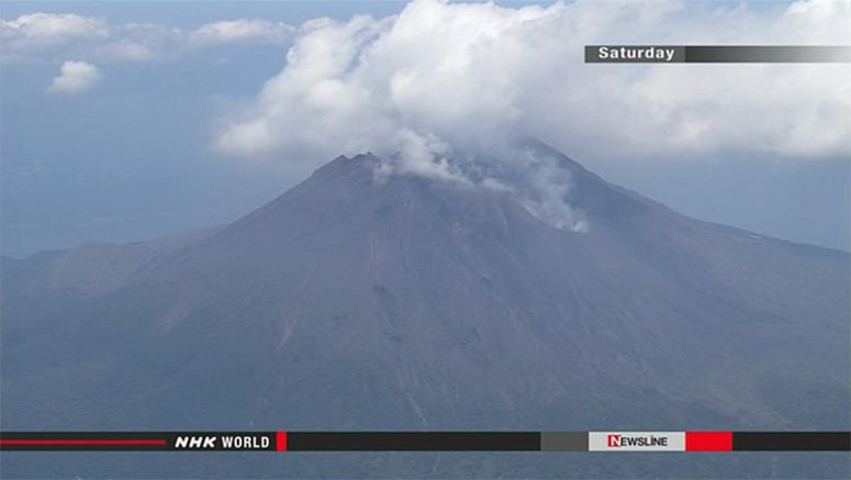 High alert for people living near volcano