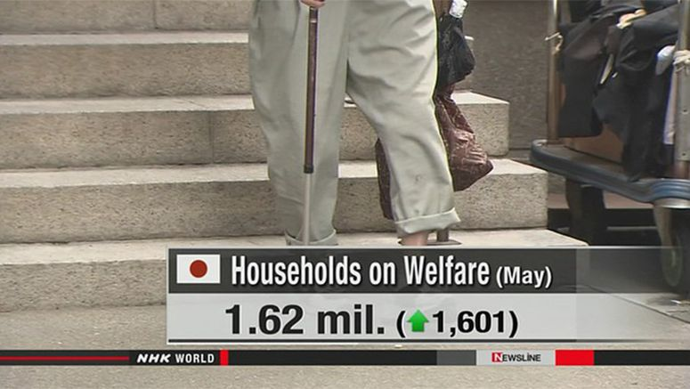 Record number of Japanese households on welfare