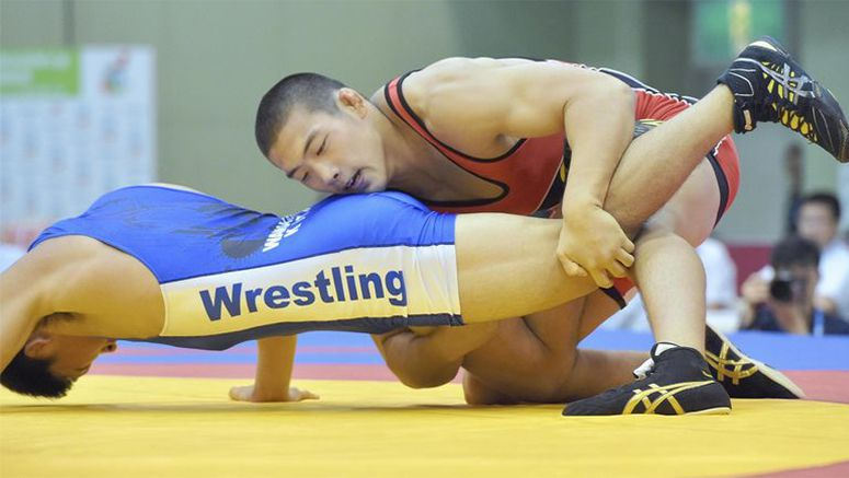 High school champ Yamasaki ready to grapple with foreign wrestlers