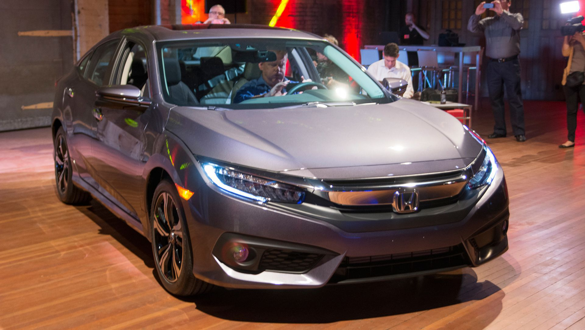 photos honda new official of photo debut autoevolution revealed news gallery ahead fully civic