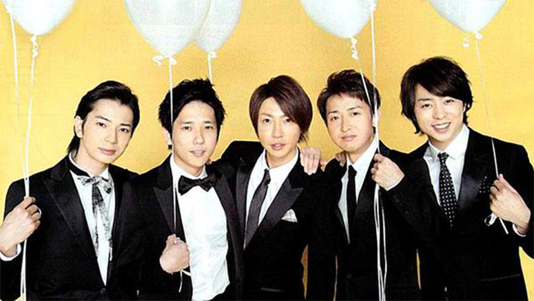 Arashi top Oricon's weekly single ranking for the 36th consecutive time