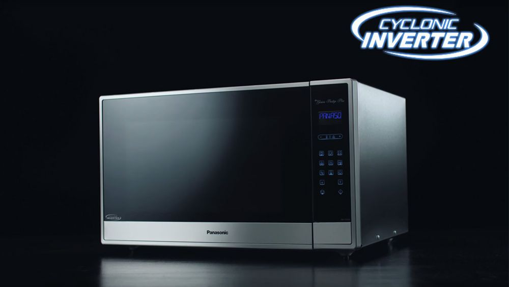 Video Panasonic Cyclonic Wave Microwave With Inverter Technology