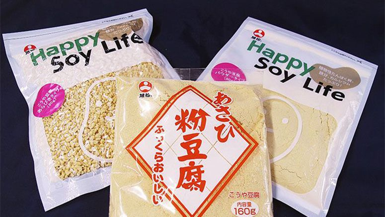 Traditional freeze-dried powdered tofu gains spotlight as healthy food