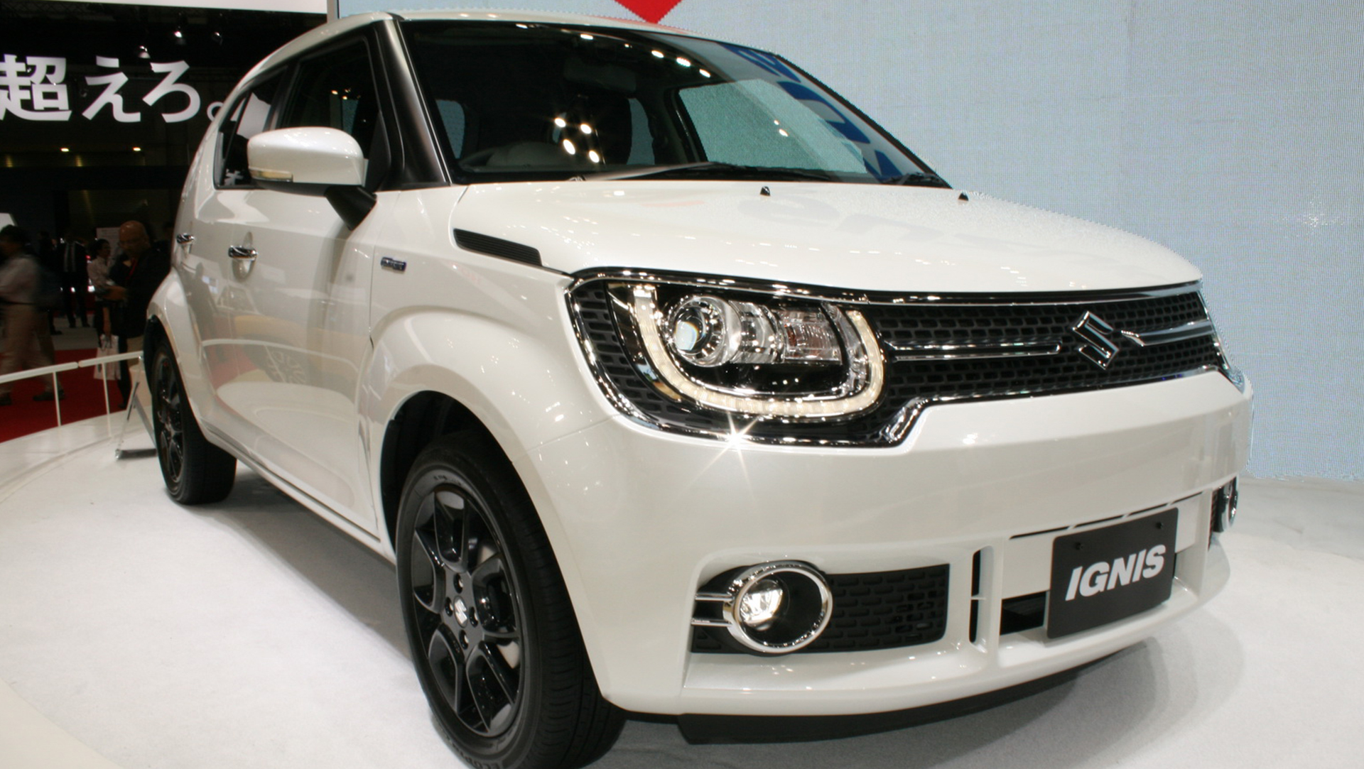 2015 Tokyo Motor Show All New Suzuki Ignis Compact Crossover