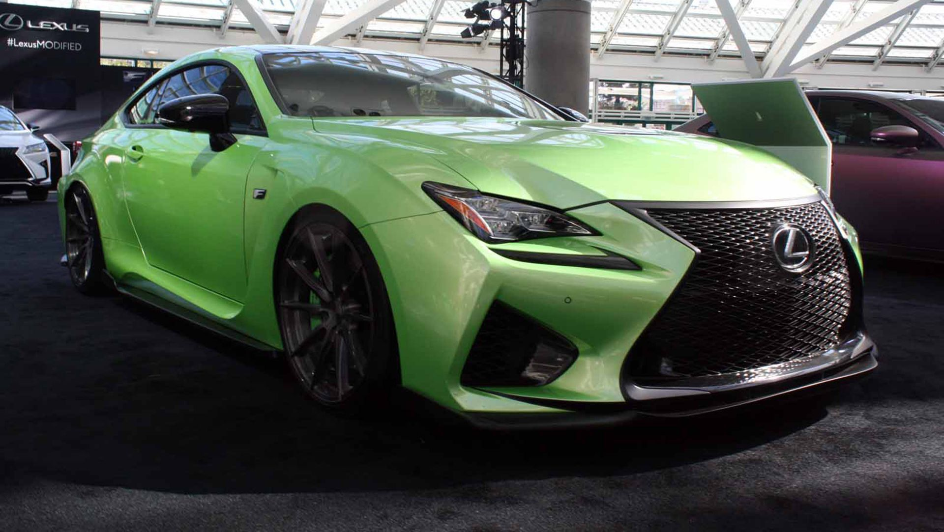 2015 Los Angeles Auto Show Lexus Brings Army of Modified Cars