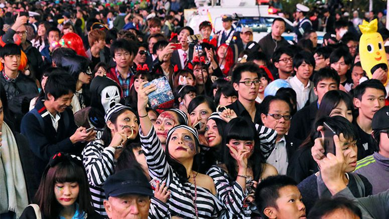 Halloween offers magical power for Japanese