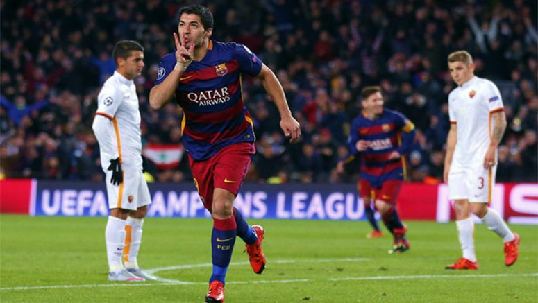 Soccer : Goals galore in Champs Lg as Barcelona and Bayern advance