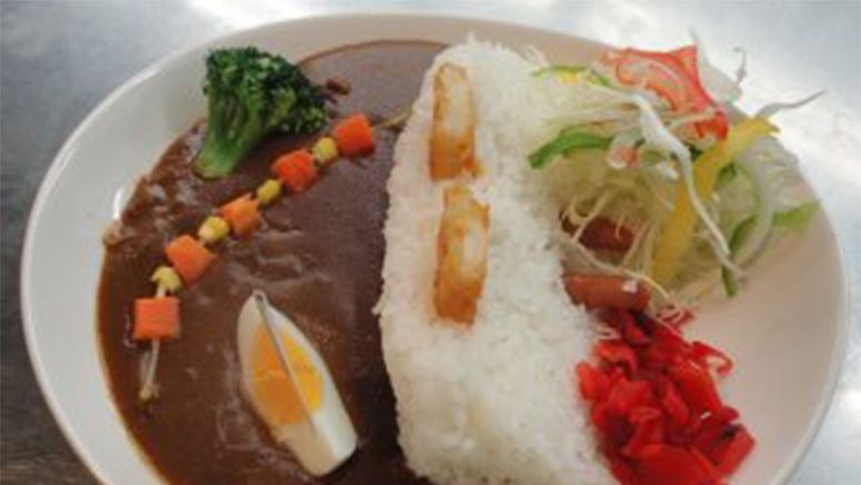 Imaginative curry at Tokyo reservoir's museum restaurant enjoys popularity