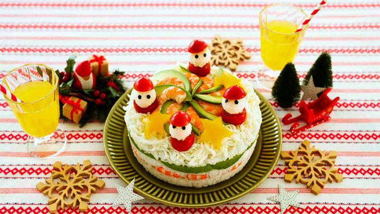 Christmas sushi cakes hottest treat for holiday season shoppers