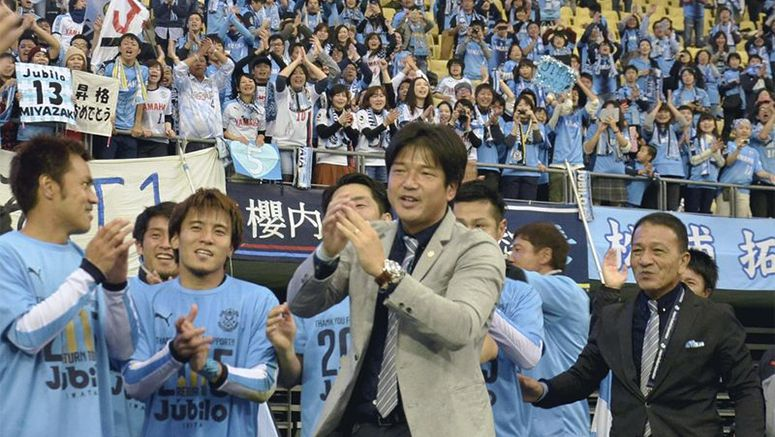 Ex-J.League stars Nanami, Ihara successfully return as coaches