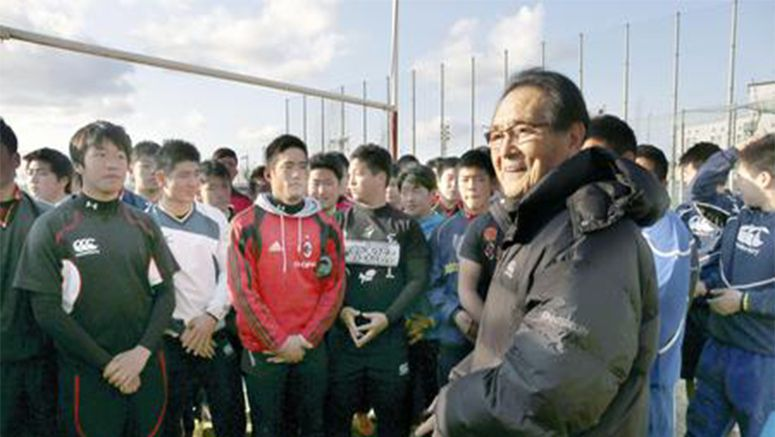 Japanese rugby legend welcomes revived fervor for the sport