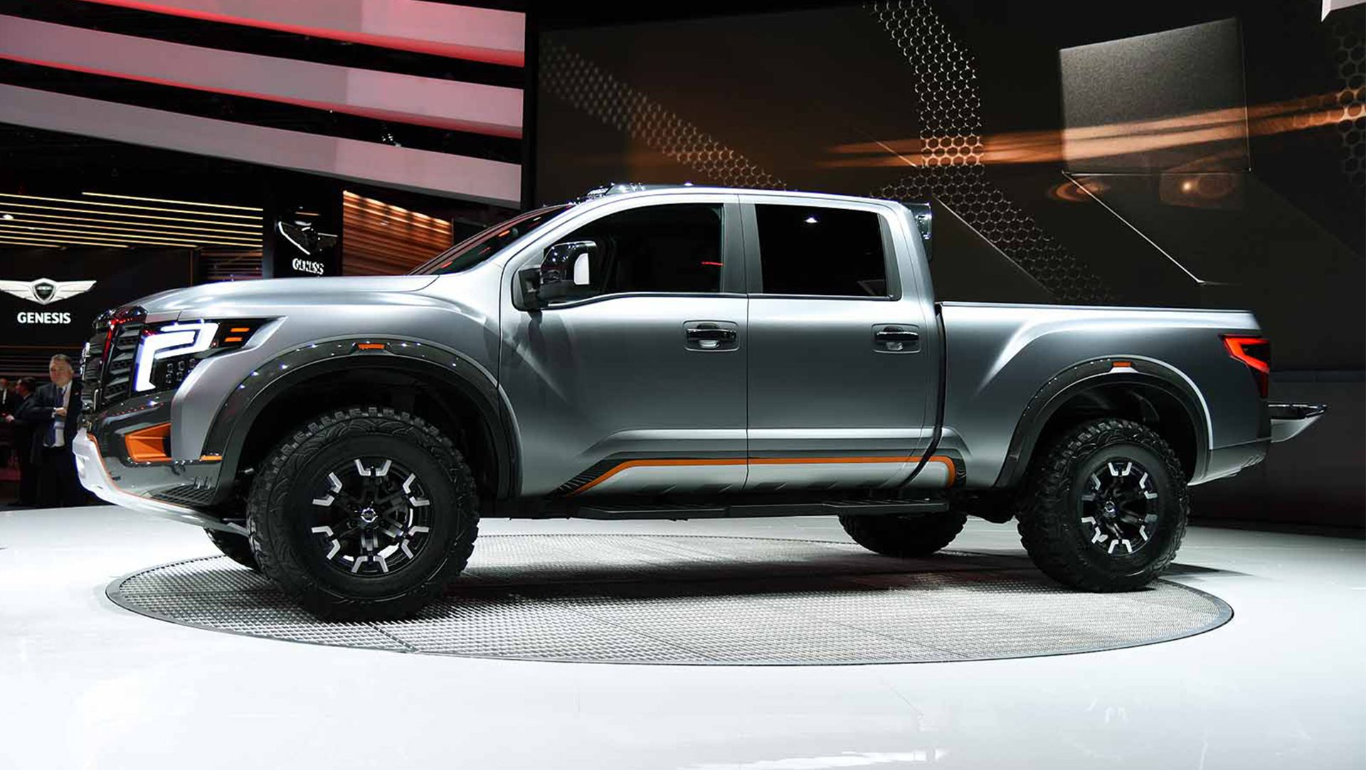 Wonderful 2016 Detroit Auto Show  Nissan Titan Warrior Concept Live