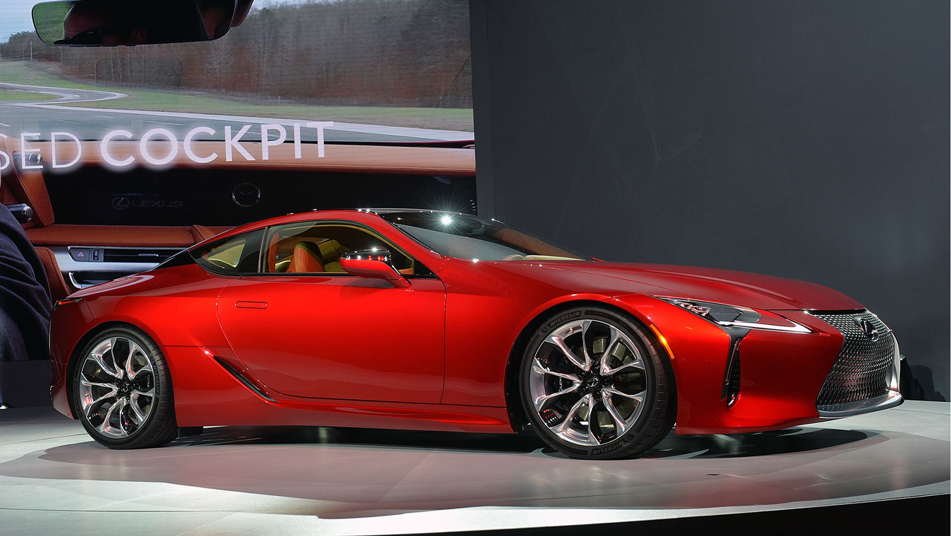 Best Production Car Award At Detroit Auto Show Goes To Lexus - Best sports coupe 2016