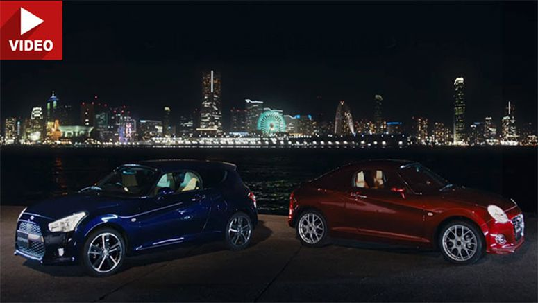 Daihatsu's Promo Video With Quirky Copen Shooting Brake & Coupe Concepts