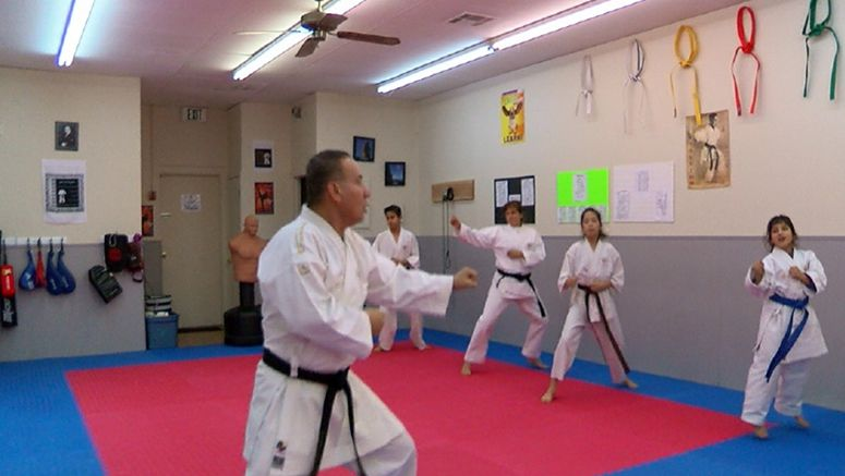 Family names karate club in memory of daughter