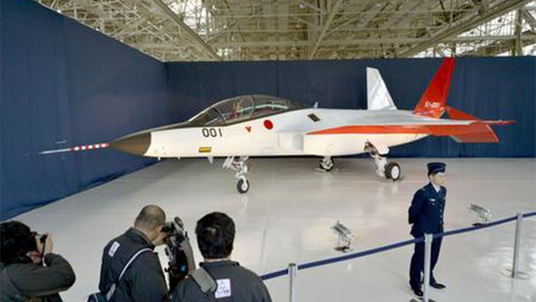 Japan unveils 1st homegrown stealth fighter prototype