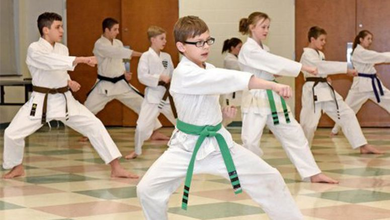 Shotokan karate showcases can-do confidence, strength